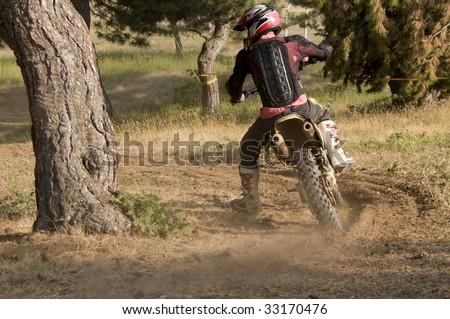 Motocross rider #33170476