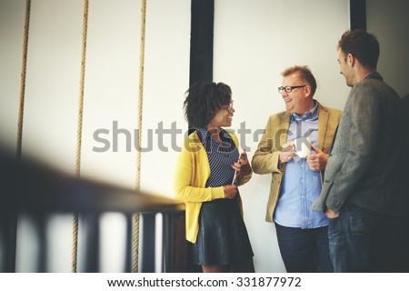 Business Team Coffee Break Relax Concept Royalty-Free Stock Photo #331877972