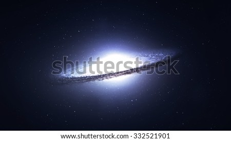 5K resolution Incredibly beautiful spiral galaxy somewhere in deep space. Elements of this image furnished by NASA.