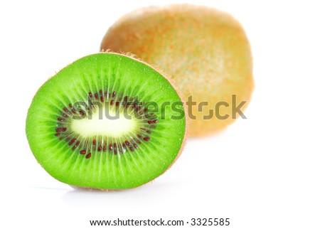 Kiwi isolated on white background #3325585
