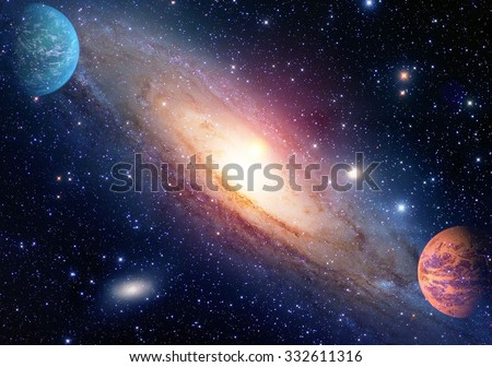 Astrology astronomy outer space big bang solar system planet galaxy creation. Elements of this image furnished by NASA.