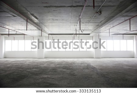 Empty room in a building #333135113