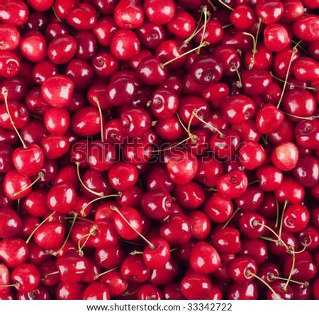 Cherries background #33342722