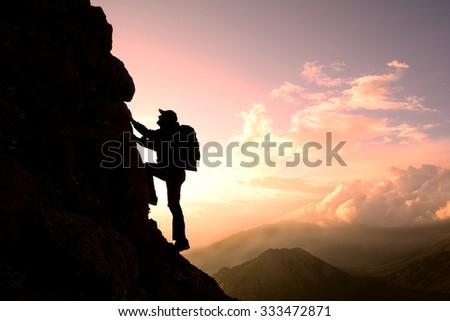 To climb the rock #333472871