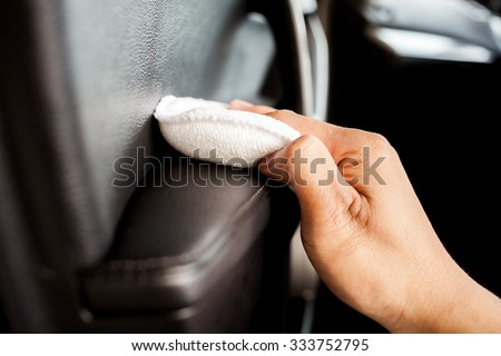 Car interior clean up #333752795