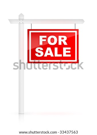 Real Estate Sign -For sale. #33437563