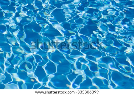 Pattern in swimming pool background. #335306399