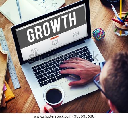 Growth Grow Development Improvement Enlargement Concept #335635688