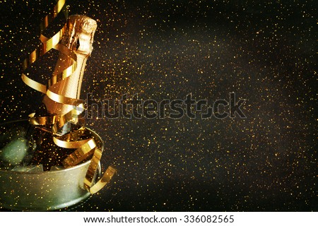 New Year Celebration. Royalty-Free Stock Photo #336082565