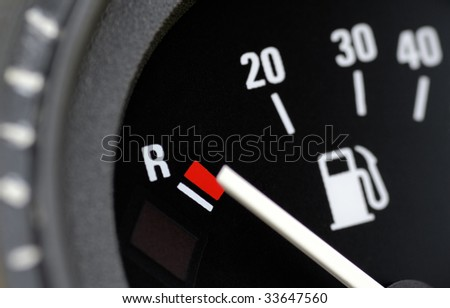 Fuel indicator at position empty #33647560