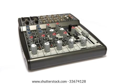 Professional Audio / Disk Jockey / Karaoke Mixer #33674128