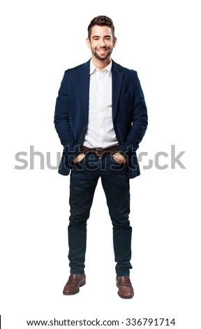 full body cool man #336791714