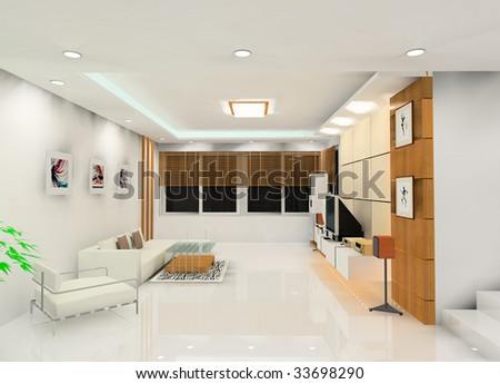 a laconic living room design #33698290