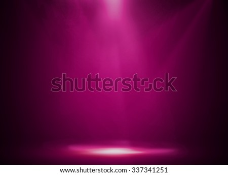 Pink stage background