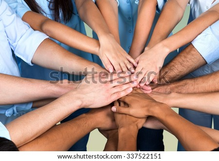 Human Hand. #337522151
