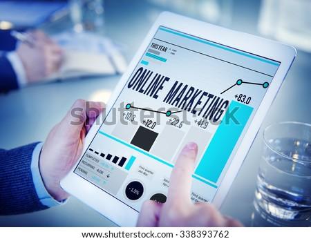Online Marketing Advertisement Target Promotion Concept #338393762