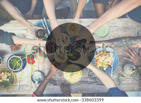 Copy Space Frame Summer Vacation Holiday Concept #338603399