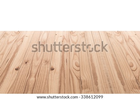 Wood texture isolated on white background #338612099