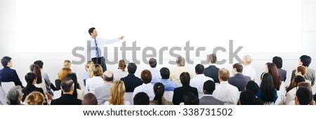 Business Presentation Seminar Corporate Training Concept