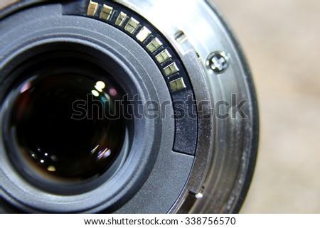 Circle focus lens at the back #338756570