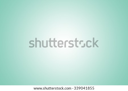 Mint green gradient abstract background