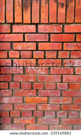 Old brick wall texture background #339169883
