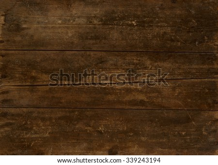 Wooden background in retro style. Old grunge sepia textured. #339243194