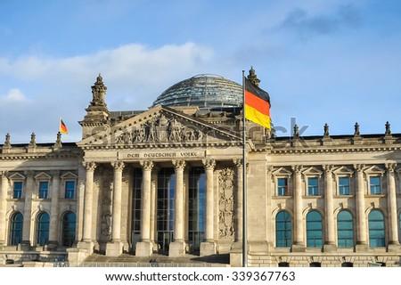 Bundestag. Berlin. #339367763