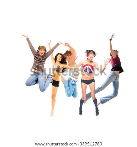 Jumping Together Winning Idea  #339512780