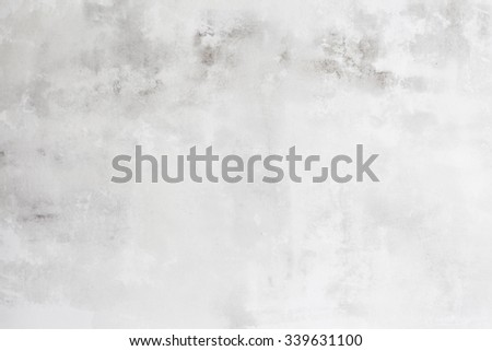 Grungy White Concrete Wall Background Royalty-Free Stock Photo #339631100