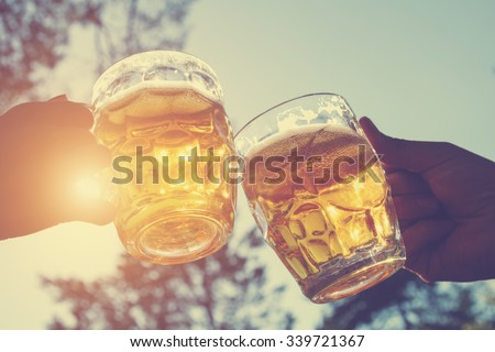 Cheers my friend! Royalty-Free Stock Photo #339721367