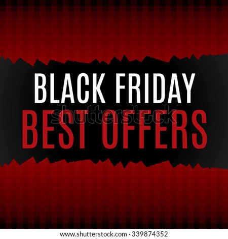 Black Friday Sale poster to use for prints, flayers, leaflets, adverts #339874352