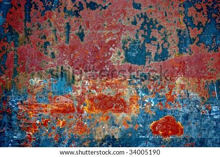 Rusty grunge texture #34005190