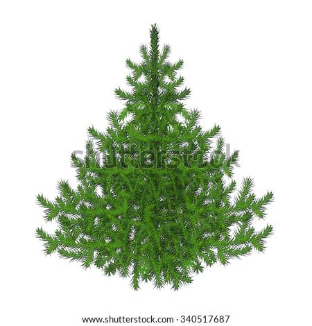 Christmas tree #340517687
