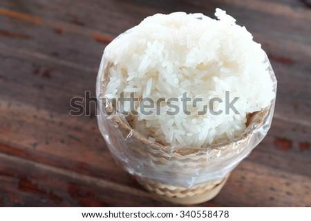 sticky rice #340558478