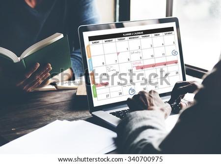 Calender Planner Organization Management Remind Concept #340700975