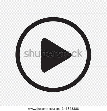 play button icon design Illustration #341548388