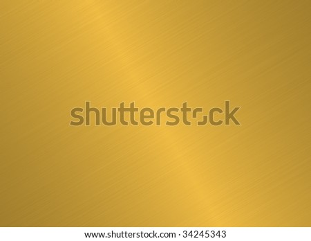 enormous sheet of brushed gold metal texture #34245343