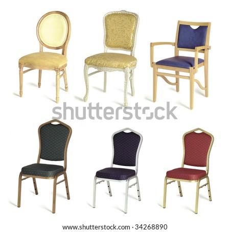 six different indoor restaurant chair #34268890