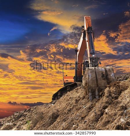 Excavator #342857990