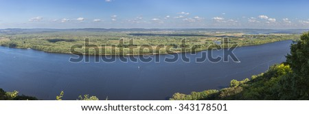 Mississippi River Scenic #343178501