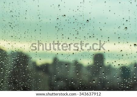 Rain over Bangkok