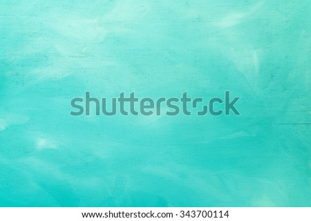 Vintage Turquoise Wood Board Painted Background Royalty-Free Stock Photo #343700114