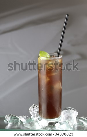 long island ice tea cocktail #34398823