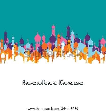 islamic ramadan mubarak #344145230