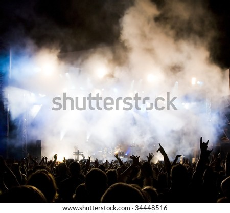 Crowd at concert #34448516