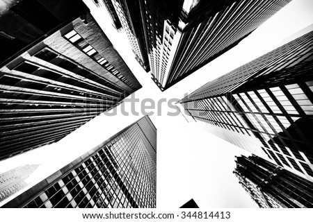 Buildings low angle view
