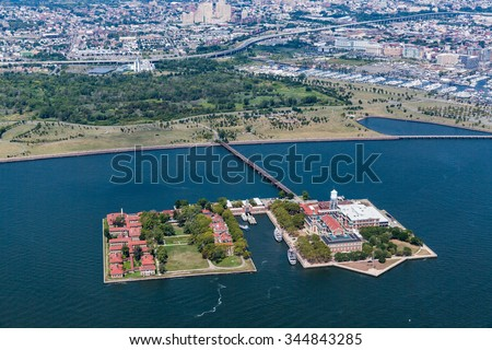 Ellis Island, New Jersey, August 2015