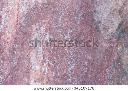 Surface of the marble with brown tint, stone texture and background. Imagination of the nature. #345109178