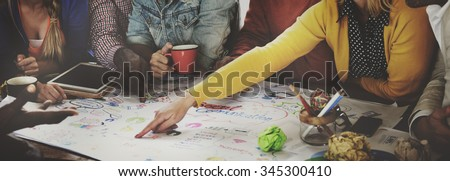 Start up Business Team Meeting Ideas Concept